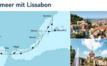 Mein Schiff 3 Mittelmeer mit Lissabon