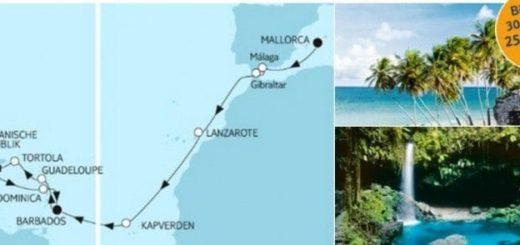 Mein Schiff 3 Mittelmeer trifft Barbados / © TUI Cruises
