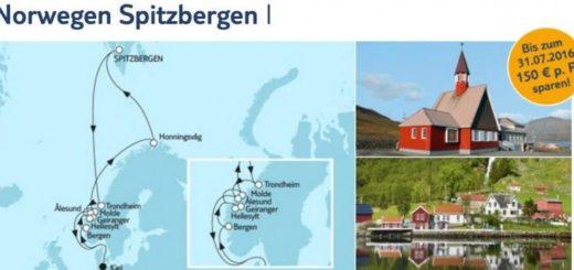 Mein Schiff 3 Norwegen und Spitzbergen 1 / © TUI Cruises