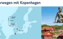 Mein Schiff 3 Südnorwegen mit Kopenhagen