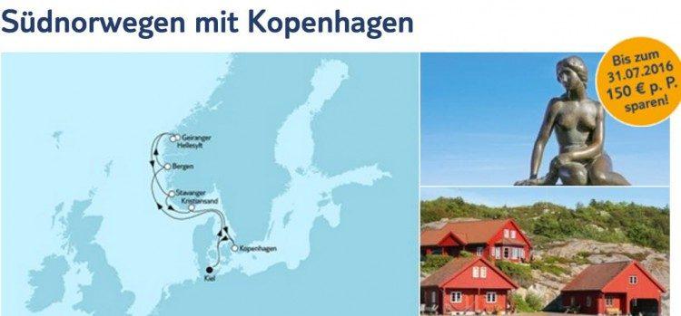 Mein Schiff 3: Südnorwegen mit Kopenhagen / © TUI Cruises