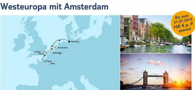 Mein Schiff 3 Westeuropa mit Amsterdam / © TUI Cruises