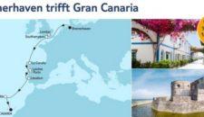 Mein Schiff 4 Bremerhaven trifft Gran Canaria