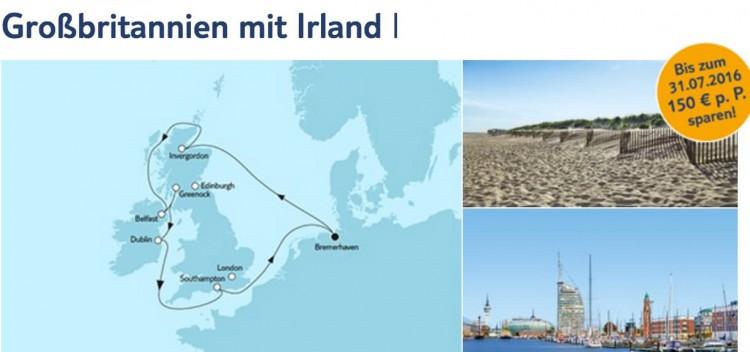 Mein Schiff 4: Großbritannien mit Irland 1 - 2017 / © TUI Cruises