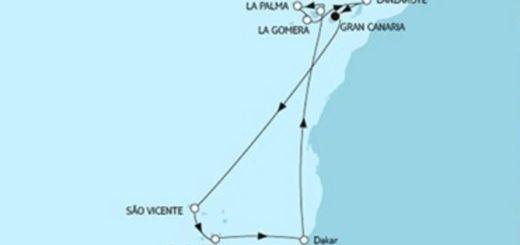 Mein Schiff 4 Kanaren mit Kapverden © TUI Cruises