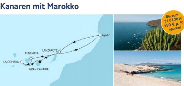 Mein Schiff 4 Kanaren mit Marokko / © TUI Cruises