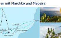 Mein Schiff 4 Kanaren mit Marokko und Madeira 2017