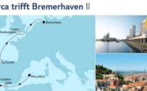 Mein Schiff 4 Mallorca trifft Bremerhaven 2