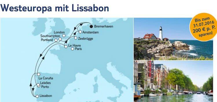 Mein Schiff 4 Westeuropa mit Lissabon / © TUI Cruises