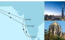 Mein Schiff 5 Dubai mit Indien