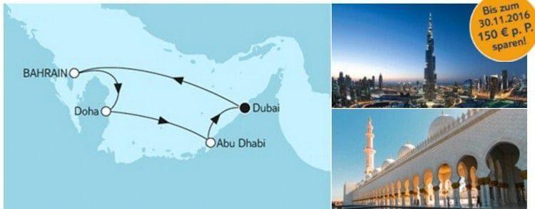 Mein Schiff 5 Dubai mit Katar / © TUI Cruises