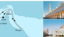Mein Schiff 5 Dubai mit Oman