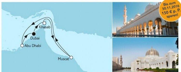 Mein Schiff 5 Dubai mit Oman / © TUI Cruises