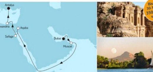 Mein Schiff 5 Dubai trifft Antalya / © TUI Cruises