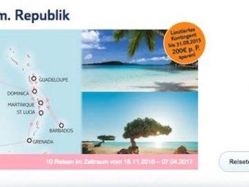 Mein Schiff 5: Karibik ab/bis Dom. Republik 2016 / 2017 © TUI Cruises