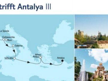 Mein Schiff 5 Mallorca trifft Antalya 3 / © TUI Cruises