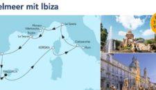 Mein Schiff 5 Mittelmeer mit Ibiza