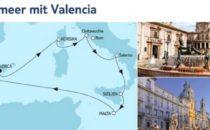Mein Schiff 5 Mittelmeer mit Valencia