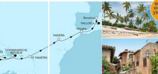 Mein Schiff 6 Dominikanische Republik trifft Mallorca / © TUI Cruises