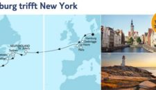 Mein Schiff 6 Hamburg trifft New York