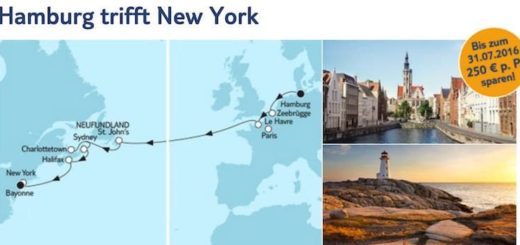Mein Schiff 6 Hamburg trifft New York / © TUI Cruises