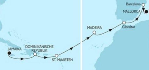 Mein Schiff 6 Jamaika trifft Mallorca © TUI Cruises