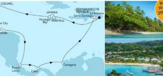 Mein Schiff 6 Mittelamerika ab/bis dominikanische Republik / © TUI Cruises