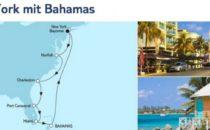 Mein Schiff 6 New York mit Bahamas