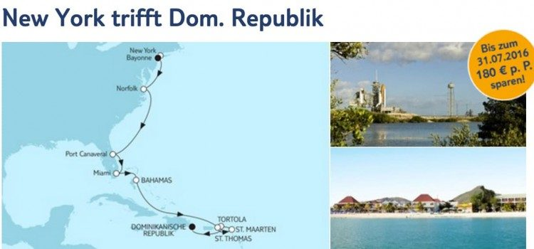 Mein Schiff 6 New York trifft Dominikanische Republik / © TUI Cruises