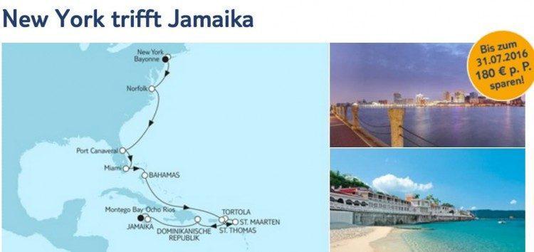 Mein Schiff 6 New York bis Jamaika / © TUI Cruises