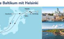 Mein Schiff 6 Ostsee Baltikum mit Helsinki