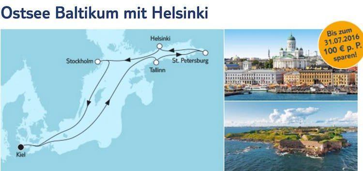 Mein Schiff 6 Ostsee Baltikum mit Helsinki / © TUI Cruises
