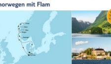 Mein Schiff 6 Südnorwegen mit Flam