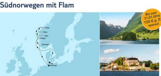 Mein Schiff 6 Südnorwegen mit Flam / © TUI Cruises