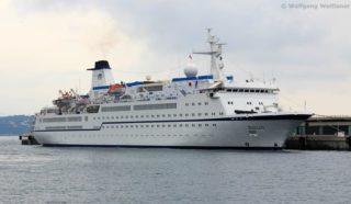 MS Berlin kommt frisch aus der Werft – Abfahrt in die Karibik