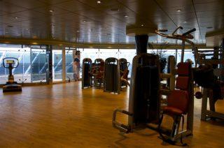 Fitnessstudio MSC Fantasia