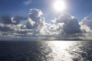 Auf See Richtung Neapel