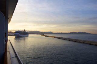 Einlaufen Marseille