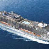 MSC Meraviglia ist eines von 26 neuen Kreuzfahrtschiffen im Jahr 2017 / © MSC Kreuzfahrten