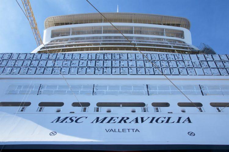MSC Meraviglia erhält maltesische Flagge