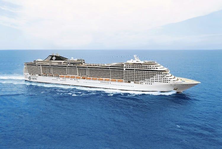 MSC Splendida fährt ab Mai 2018 auf China Kreuzfahrten / © MSC Crociere