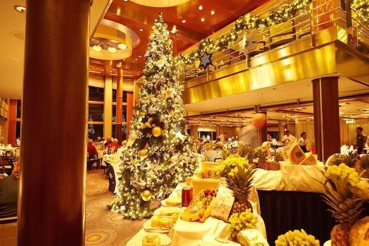 Weihnachten an Bord der Mein Schiff 1 / © TUI Cruises