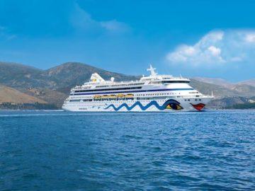 AIDAaura startet 2018 auf Weltreise / © AIDA Cruises