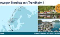 Mein Schiff 1 Norwegen Nordkap mit Trondheim 1