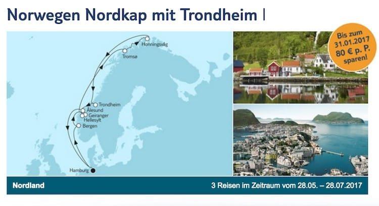 Mein Schiff 1 Norwegen und Nordkap mit Trondheim 1 / © TUI Cruises