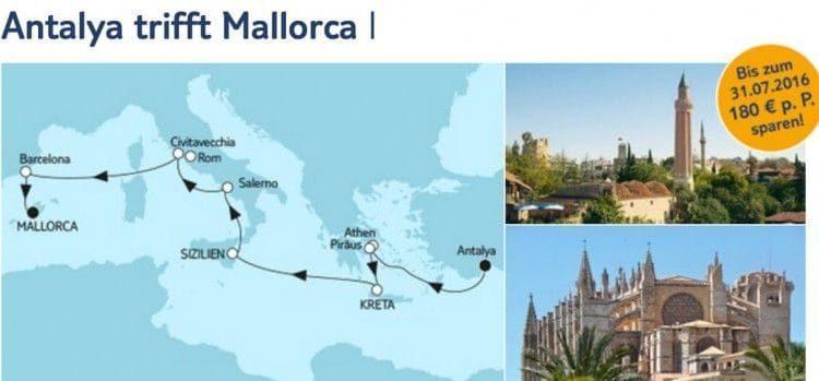 Mein Schiff 3 Antalya trifft Mallorca / © TUI Cruises