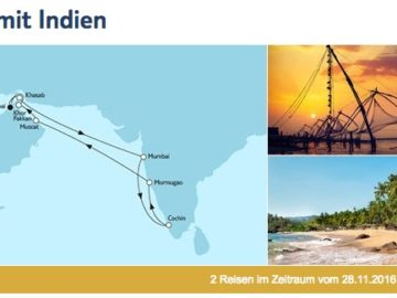 Mein Schiff 3 Dubai mit Indien / © TUI Cruises