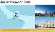 Mein Schiff 3 Dubai mit Muscat