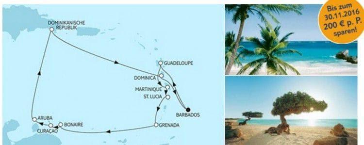 Mein Schiff 3 Karibik ab/bis Barbados / © TUI Cruises