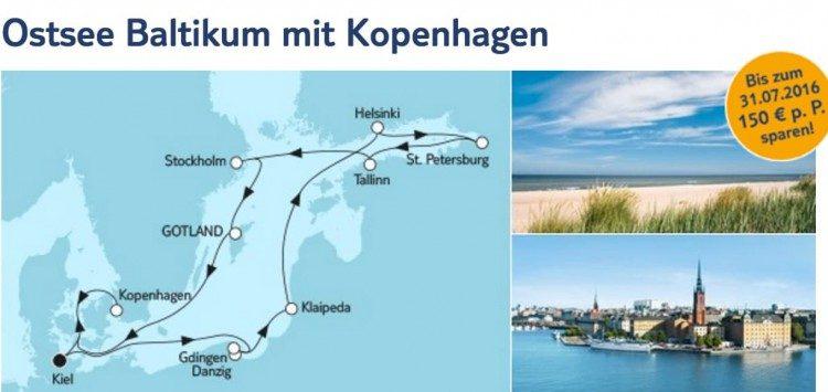 Mein Schiff 3 Ostsee Baltikum mit Kopenhagen / © TUI Cruises